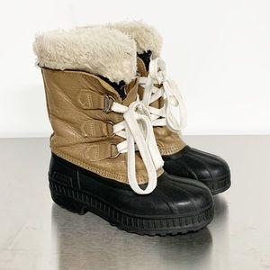 Sorel   Beige Leather Winter Boots Kids 2